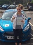 Jenelle Evans passed with Peter Hamilton Driving School