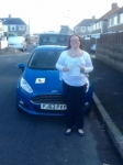 Jennifer Mansfield passed with Peter Hamilton Driving School