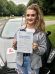 Jodi Jennings passed with Peter Hamilton Driving School