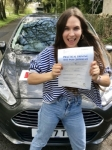 Jodie Lunnon From Bridgend passed with Peter Hamilton Driving School