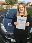 Jordan-Leigh Cooper from Bridgend passed with Peter Hamilton Driving School