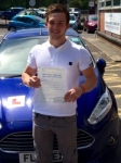 Joseph Hapgood passed with Peter Hamilton Driving School