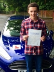 Joseph Jenkins passed with Peter Hamilton Driving School