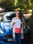 Kiri Emery-Waite passed with Peter Hamilton Driving School