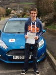 Kyle Williams passed with Peter Hamilton Driving School