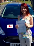 Laura Cann passed with Peter Hamilton Driving School