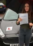 Laura Williams passed with Peter Hamilton Driving School
