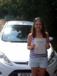 Lauren Howells passed with Peter Hamilton Driving School