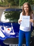 Lauren Thomas passed with Peter Hamilton Driving School