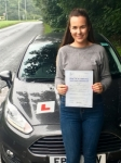 Leah Cavill passed with Peter Hamilton Driving School