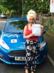 Leah Harris passed with Peter Hamilton Driving School