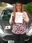 Leanne James passed with Peter Hamilton Driving School