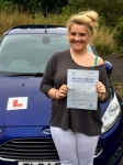 Leean Creasy passed with Peter Hamilton Driving School