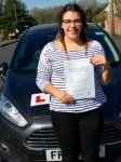 Libby Richards passed with Peter Hamilton Driving School