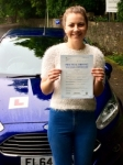Lucie Simon passed with Peter Hamilton Driving School