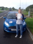 Lucy Ballard passed with Peter Hamilton Driving School