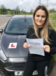 Matilda Thomas From Bridgend passed with Peter Hamilton Driving School