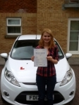 Megan Popplewell passed with Peter Hamilton Driving School