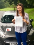 Megan Portnell passed with Peter Hamilton Driving School
