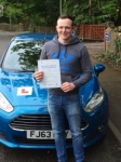 Michael Forester passed with Peter Hamilton Driving School