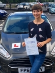 Mikaela Lewis passed with Peter Hamilton Driving School