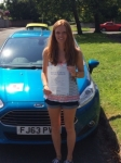 Olivia Brett passed with Peter Hamilton Driving School