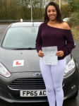 Olivia Brown passed with Peter Hamilton Driving School