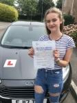 Olivia Stadden From Bridgend passed with Peter Hamilton Driving School