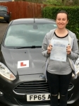 Ophelia Parsons passed with Peter Hamilton Driving School