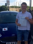 Owen Sage passed with Peter Hamilton Driving School