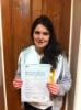 Rachel Battrick passed with Peter Hamilton Driving School