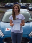 Rachel Lewis passed with Peter Hamilton Driving School
