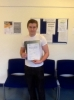 Rhys Dyke passed with Peter Hamilton Driving School