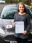 Sameera Newton passed with Peter Hamilton Driving School