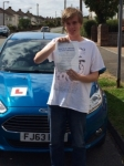 Samuel Townend passed with Peter Hamilton Driving School