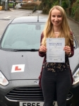 Sarah Kavanagh passed with Peter Hamilton Driving School