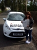 Sarah Samuel passed with Peter Hamilton Driving School