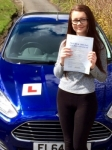 Sarah Smith passed with Peter Hamilton Driving School