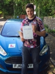 Scott Ewing passed with Peter Hamilton Driving School