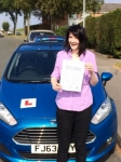 Shaunagh Searle passed with Peter Hamilton Driving School