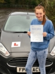Shaznay Cook passed with Peter Hamilton Driving School