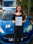 Sophie Wilkes passed with Peter Hamilton Driving School