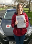 Sophie Bowen from Bridgend passed with Peter Hamilton Driving School