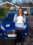 Sophie James passed with Peter Hamilton Driving School