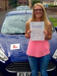 Sophie Keylock passed with Peter Hamilton Driving School