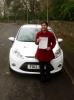 Suneela Azfal passed with Peter Hamilton Driving School
