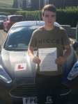Taylor Davies passed with Peter Hamilton Driving School