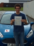 William Garner passed with Peter Hamilton Driving School