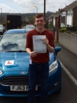 William Haley passed with Peter Hamilton Driving School