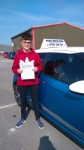 Caitlin passed with Pass With Phil Driving School